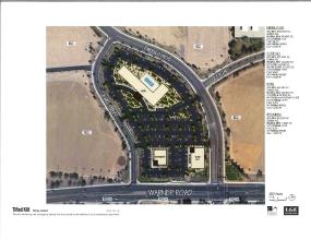 Emerald Center Hotel Site color site plan